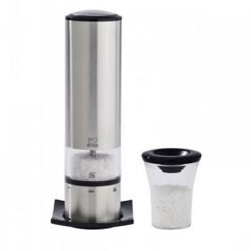Elis elektrický mlynček na soľ, nerez 27179