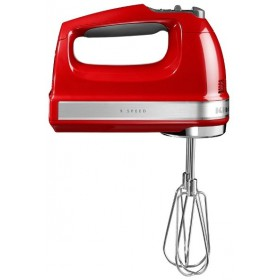 Rucný šľahač kitchen aid červený
