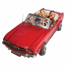 dopravný prostriedok - 65´ Ford Mustang kabriolet