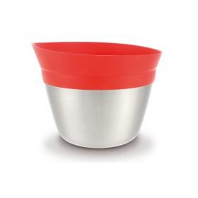 Q! Misa nerez / silikón červený Ø 19 cm, 2,3L