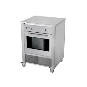 Kuchynský modul - rúra na pečenie nerezová