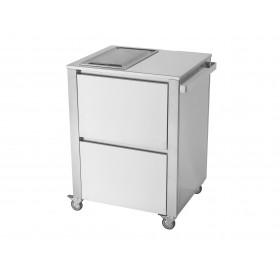 Kuchynský modul - indukčná varná doska, 2 zónová