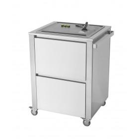 Kuchynský modul - vozík s varnou doskou Teppanyaki