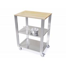 Kuchynský modul - vozík z hrabového dreva 662700