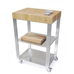 Kuchynský modul - vozík z habanového dreva 663700  669600