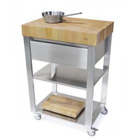 Kuchynský modul - vozík z habanového dreva 663701