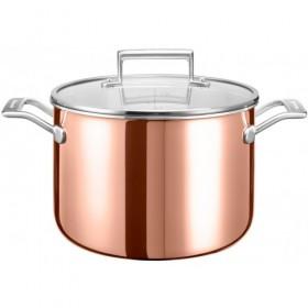 KitchenAid hrnec s pokrievkou 7,6l, Ø 24 cm