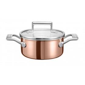 KitchenAid hrnec s pokrievkou  1,5l, Ø 16 cm