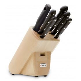 6-dielny blok nožov Gourmet 9831