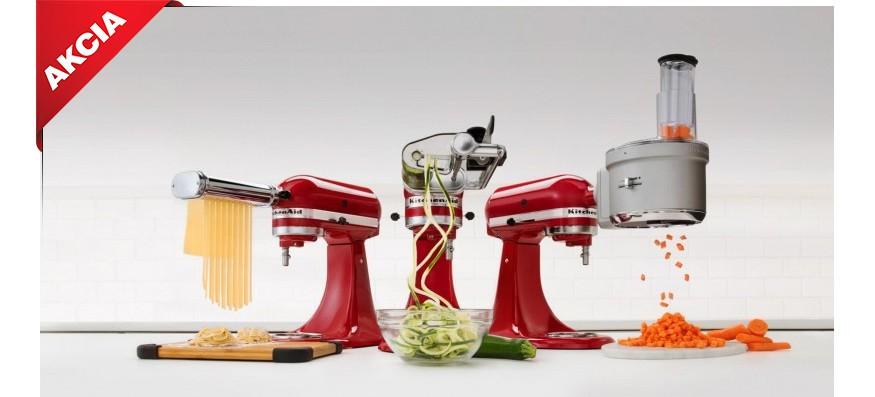 kuchynské roboty Kitchen Aid Artisan 5KSM150 a 156