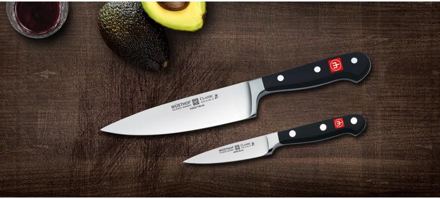 akcia na sady a bloky nožov Wusthof