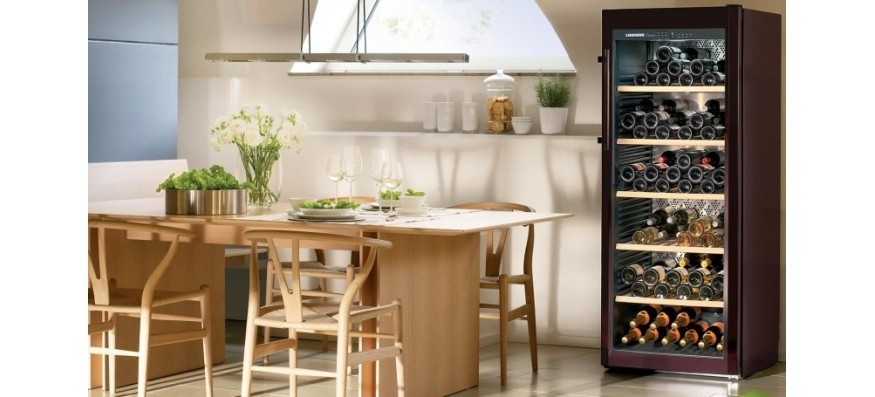 Chladničky na víno voľne stojace