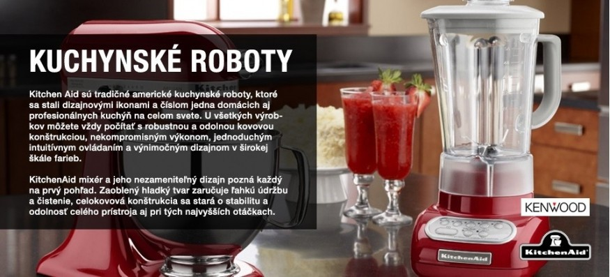 Kuchynské roboty a mixéry